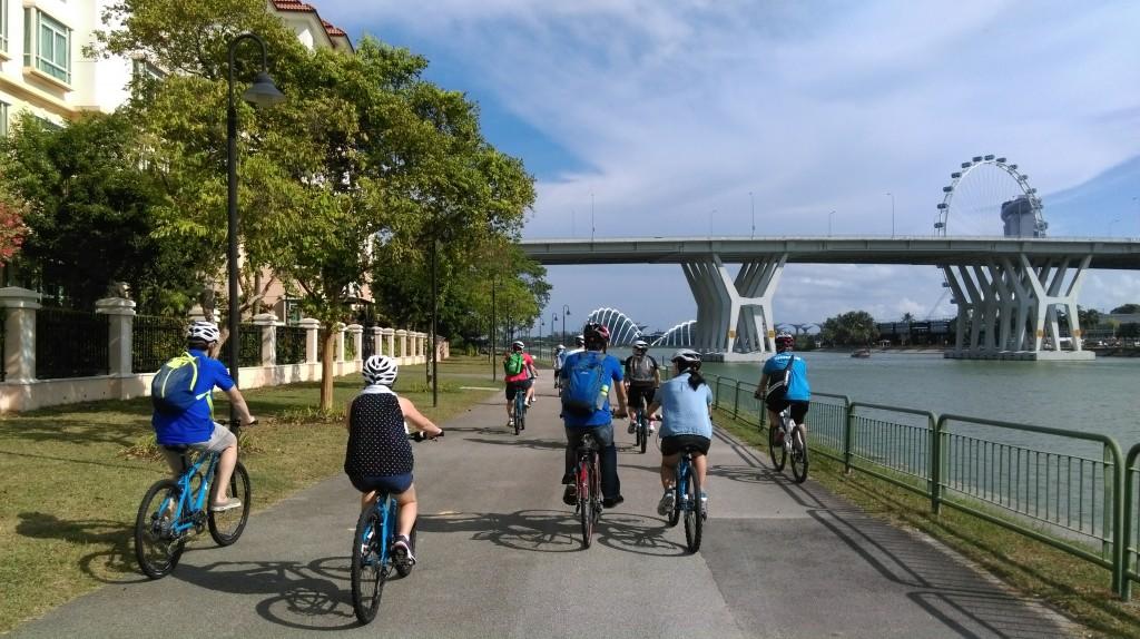Bike Cruise : A day @ Singapore Flyer